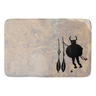 Monster Slayer, Blanco, New Mexico Bath Mat