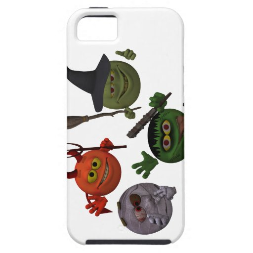 Monster Smiley Guys (Goofy) iPhone 5 Cover