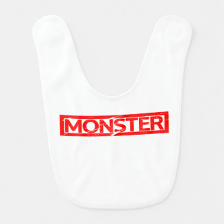 Monster Stamp Bib