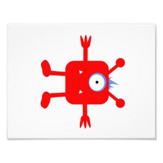 Monster Theme Baby Boy Room Print (1 of 4)