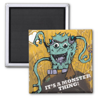 Monster Thing Magnet