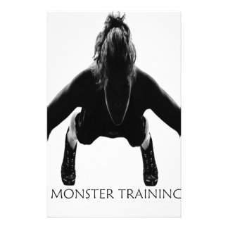 MONSTER TRAINING.ai Stationery
