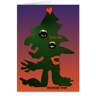 Monster tree by Anjo Lafin Card