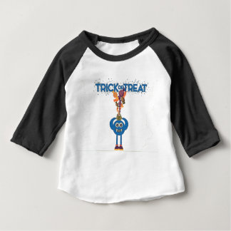 Monster trick or treat toddler tee