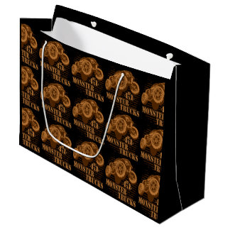 Monster Truck 4x4 Off Road Large Gift Bag