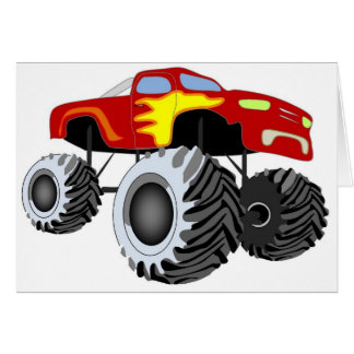 Monster Truck Card