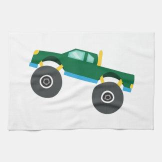 Monster Truck Kitchen Towel