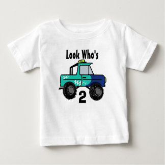 Monster Truck/  Look Who's, 2 Baby T-Shirt