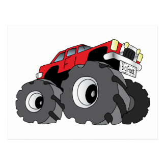 Monster Truck Postcard