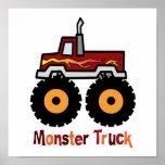 Monster Truck Print