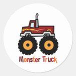 Monster Truck Sticker