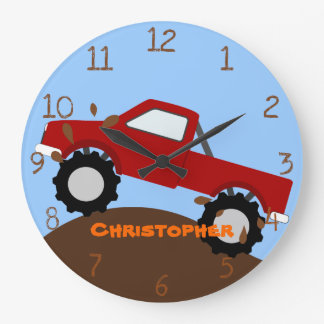 Monster Truck Wall Clock