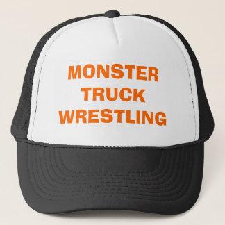 MONSTER TRUCK WRESTLING TRUCKER HAT