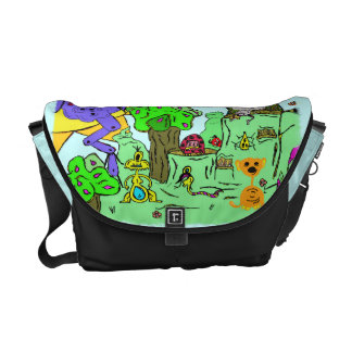 Monster Valley Messanger Bag Messenger Bag