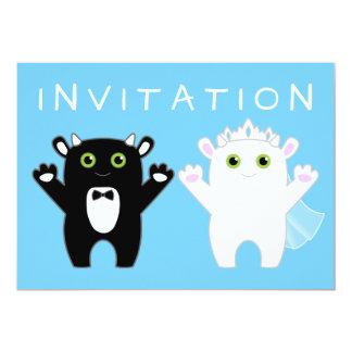 Monster Wedding Card