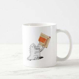 Monster with Lavazza Coffee Mug