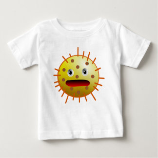 Monster yellow funny bacteria t shirts