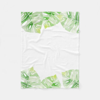 Monstera Blanket
