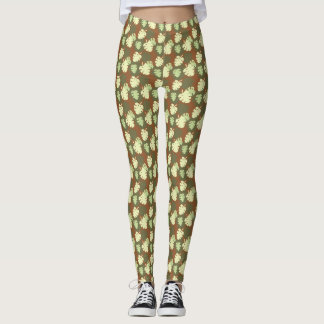 Monstera deliciosa leggings