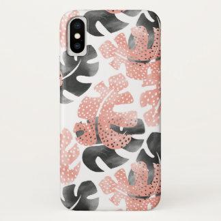 Monstera leaves FabricPhone Case