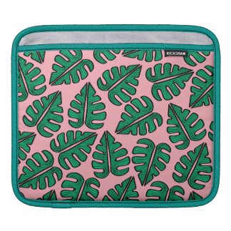 Monstera leaves iPad bag iPad Sleeve