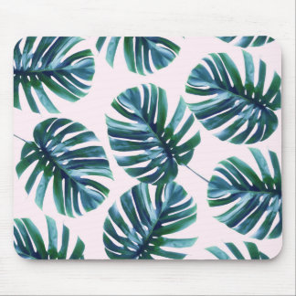 Monstera Pattern Mousepad