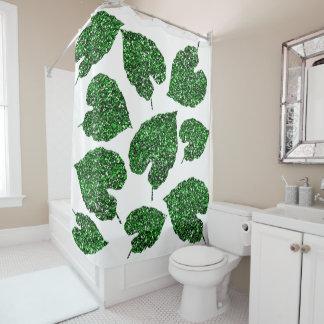 Monstera Tropical Cali Green Leaf Botanical White