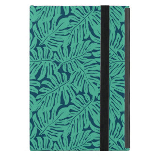 Monstera Tropical Leaf Pattern Case For iPad Mini
