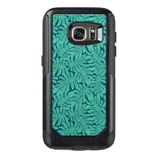Monstera Tropical Leaf Pattern OtterBox Samsung Galaxy S7 Case