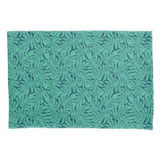Monstera Tropical Leaf Pattern Pillowcase
