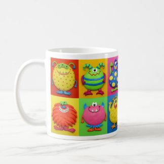 Monsters Classic White Coffee Mug