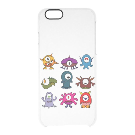 Monsters Clear iPhone 6/6S Case