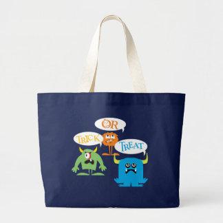 Monsters Halloween Trick or Treat Bag