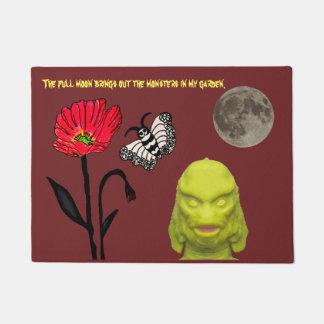 Monsters in my Garden #5 Doormat