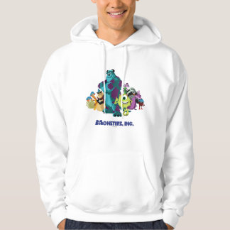 Monsters Inc 8Bit Mike, Sully, and the Gang Hoodie
