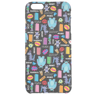 Monsters, Inc. | Character Pattern Clear iPhone 6 Plus Case