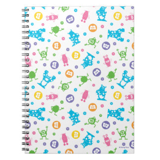 Monsters, Inc. | Character Pattern Mania Notebooks