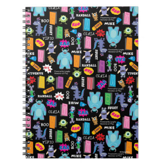 Monsters, Inc. | Character Pattern Notebooks