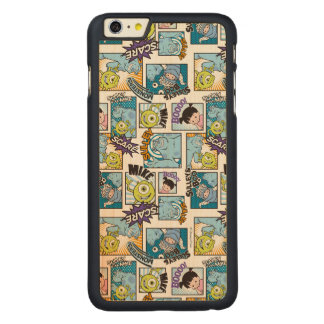 Monsters, Inc. | Comic Pattern Mania Carved Maple iPhone 6 Plus Case