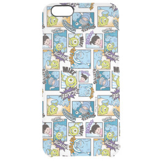 Monsters, Inc. | Comic Pattern Mania Clear iPhone 6 Plus Case