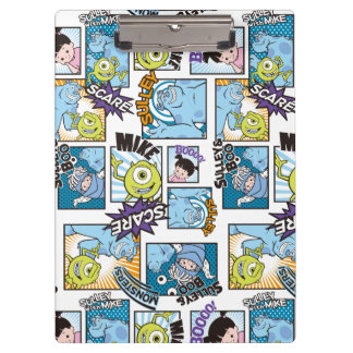 Monsters, Inc. | Comic Pattern Mania Clipboard
