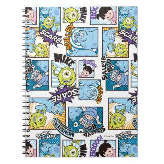 Monsters, Inc. | Comic Pattern Mania Notebooks