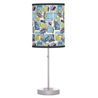 Monsters, Inc. | Comic Pattern Mania Table Lamp