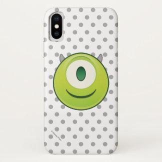 Monsters, Inc. | Mike Emoji iPhone X Case