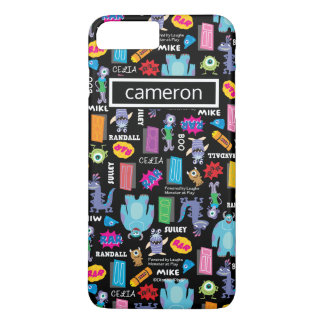 Monsters, Inc. | Pattern | Your Name iPhone 8 Plus/7 Plus Case