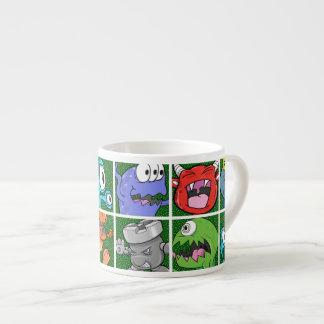 Monsters & Kaiju 6 Oz Ceramic Espresso Cup