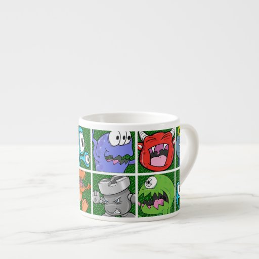 Monsters & Kaiju Espresso Mug