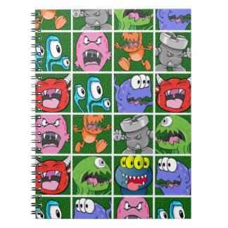 Monsters & Kaiju Spiral Notebook