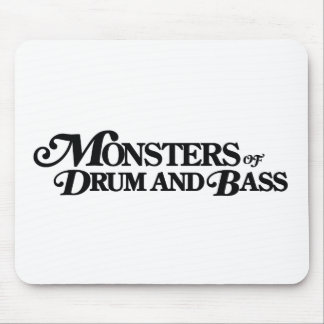 Monsters of Drum and Bass Mousepad