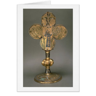 Monstrance reliquary of St. Francis of Assisi, 122 Card